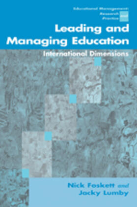 Lumby / Foskett | Leading and Managing Education | Buch | sack.de