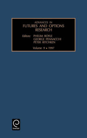 Advances in Futures and Options Research   Buch   sack.de
