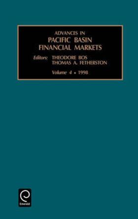 Advances in Pacific Basin Financial Markets, Volume 4 | Buch | sack.de