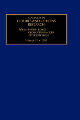 Advances in Futures and Options Research | Buch | sack.de
