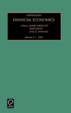 Advances in Financial Economics | Buch | sack.de