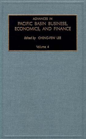 Advances in Pacific Basin Business, Economics and Finance | Buch | sack.de