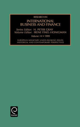 Research in International Business and Finance Volume 14 | Buch | sack.de