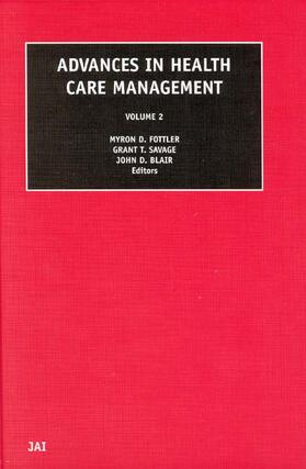 Blair / Fottler / Savage | Advances in Health Care Management | Buch | sack.de