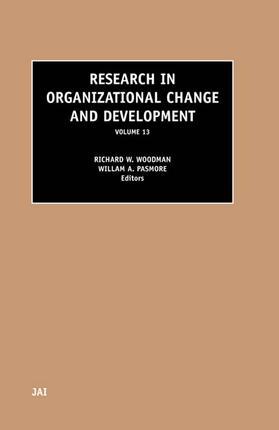 Research in Organizational Change and Development | Buch | sack.de