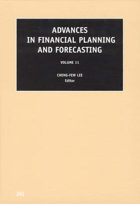 Lee   Advances in Financial Planning and Forecasting, Volume 11   Buch   sack.de