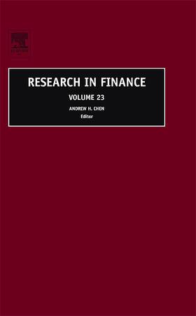 Chen   Research in Finance V23   Buch   sack.de