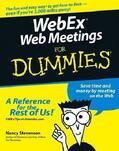 Stevenson    WebEx Web Meetings For Dummies   Buch    Sack Fachmedien