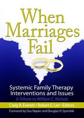 Everett / Lee | When Marriages Fail | Buch | sack.de