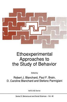 Blanchard / Brain / Blanchard   Ethoexperimental Approaches to the Study of Behavior   Buch   sack.de