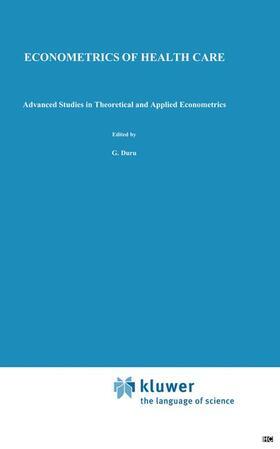 Paelinck / Duru | Econometrics of Health Care | Buch | sack.de