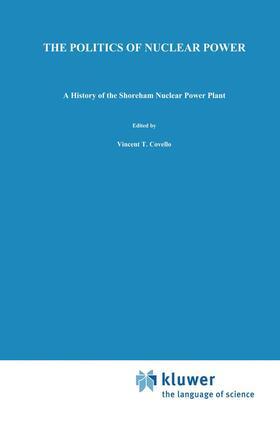 McCaffrey | The Politics of Nuclear Power | Buch | sack.de