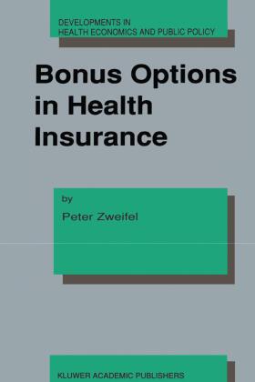 Zweifel / Zweifel | Bonus Options in Health Insurance | Buch | sack.de