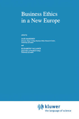 Mahoney / Vallance | Business Ethics in a New Europe | Buch | sack.de