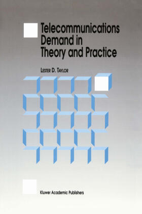 Taylor | Telecommunications Demand in Theory and Practice | Buch | sack.de