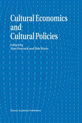 Peacock / Rizzo | Cultural Economics And Cultural Policies | Buch | sack.de