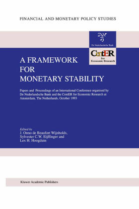 Beaufort Wijnholds / Hoogduin / Eijffinger | A Framework for Monetary Stability | Buch | sack.de