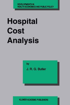 Butler | Hospital Cost Analysis | Buch | sack.de
