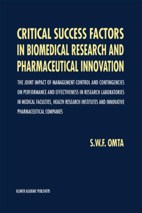 Omta | Critical Success Factors in Biomedical Research and Pharmaceutical Innovation | Buch | sack.de
