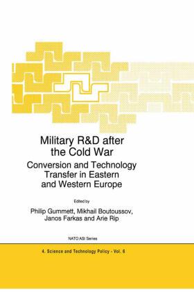 Gummett / Rip / Farkas   Military R&D after the Cold War   Buch   sack.de