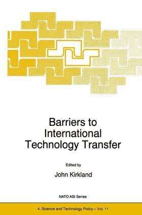 Kirkland   Barriers to International Technology Transfer   Buch   sack.de