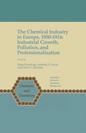 Homburg / Travis / Schröter   The Chemical Industry in Europe, 1850-1914   Buch   sack.de