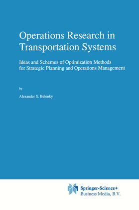 Belenky   Operations Research in Transportation Systems   Buch   sack.de