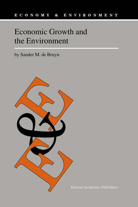 de Bruyn | Economic Growth and the Environment | Buch | sack.de