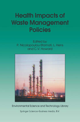 Nicolopoulou-Stamati / Hens / Howard | Health Impacts of Waste Management Policies | Buch | sack.de