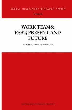 Beyerlein | Work Teams: Past, Present and Future | Buch | sack.de