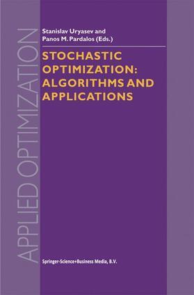 Uryasev / Pardalos | Stochastic Optimization | Buch | sack.de