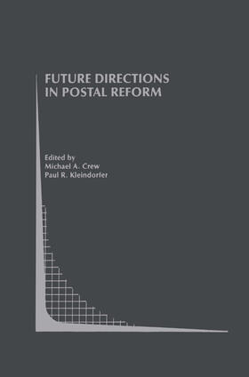 Crew / Kleindorfer   Future Directions in Postal Reform   Buch   sack.de