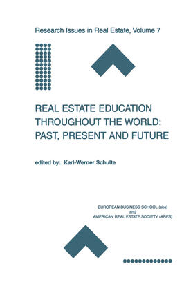 Schulte | Real Estate Education Throughout the World: Past, Present and Future | Buch | sack.de
