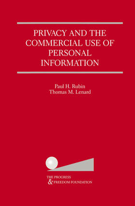 Lenard / Rubin | Privacy and the Commercial Use of Personal Information | Buch | sack.de