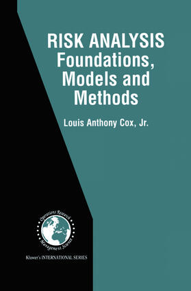 Cox Jr. | Risk Analysis Foundations, Models, and Methods | Buch | sack.de