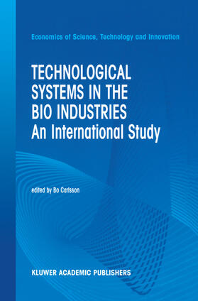Carlsson | Technological Systems in the Bio Industries | Buch | sack.de