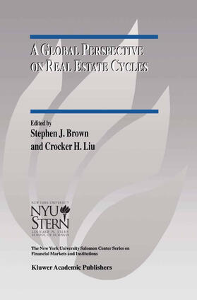 Brown / Liu | A Global Perspective on Real Estate Cycles | Buch | sack.de