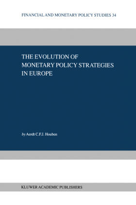 Houben | The Evolution of Monetary Policy Strategies in Europe | Buch | sack.de