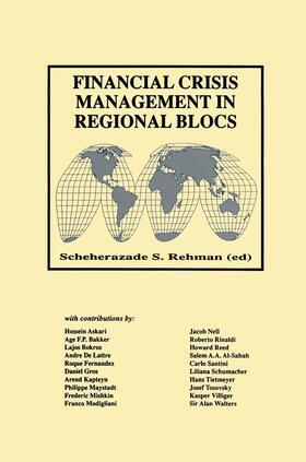 Rehman | Financial Crisis Management in Regional Blocs | Buch | sack.de