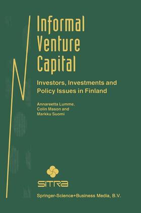 Lumme / Suomi / Mason | Informal Venture Capital | Buch | sack.de