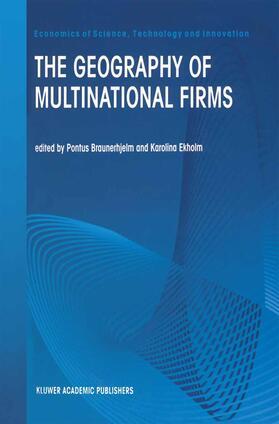 Braunerhjelm / Ekholm | The Geography of Multinational Firms | Buch | sack.de