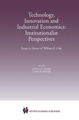Mogab / James | Technology, Innovation and Industrial Economics: Institutionalist Perspectives | Buch | sack.de