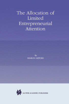 Gifford   The Allocation of Limited Entrepreneurial Attention   Buch   sack.de
