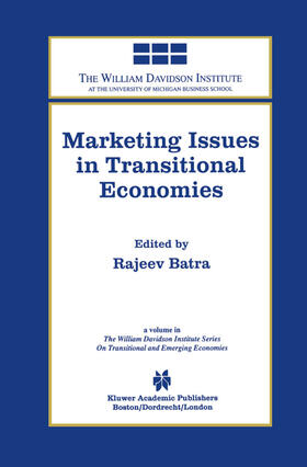 Batra | Marketing Issues in Transitional Economies | Buch | sack.de