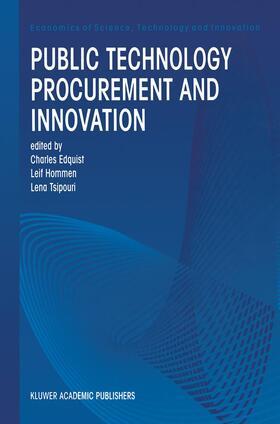 Edquist / Hommen / Tsipouri   Public Technology Procurement and Innovation   Buch   sack.de
