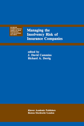 Cummins / Derrig | Managing the Insolvency Risk of Insurance Companies | Buch | sack.de