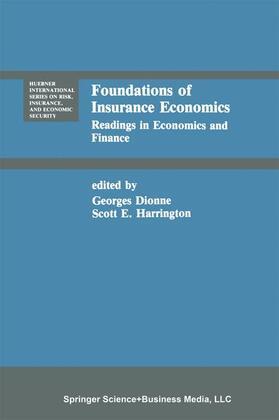 Dionne / Harrington | Foundations of Insurance Economics | Buch | sack.de