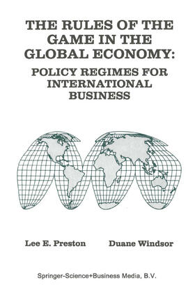 Windsor / Preston | The Rules of the Game in the Global Economy | Buch | sack.de