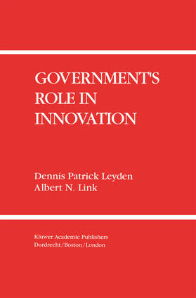 Leyden / Link | Government S Role in Innovation | Buch | sack.de