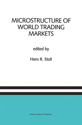 Stoll | Microstructure of World Trading Markets | Buch | sack.de